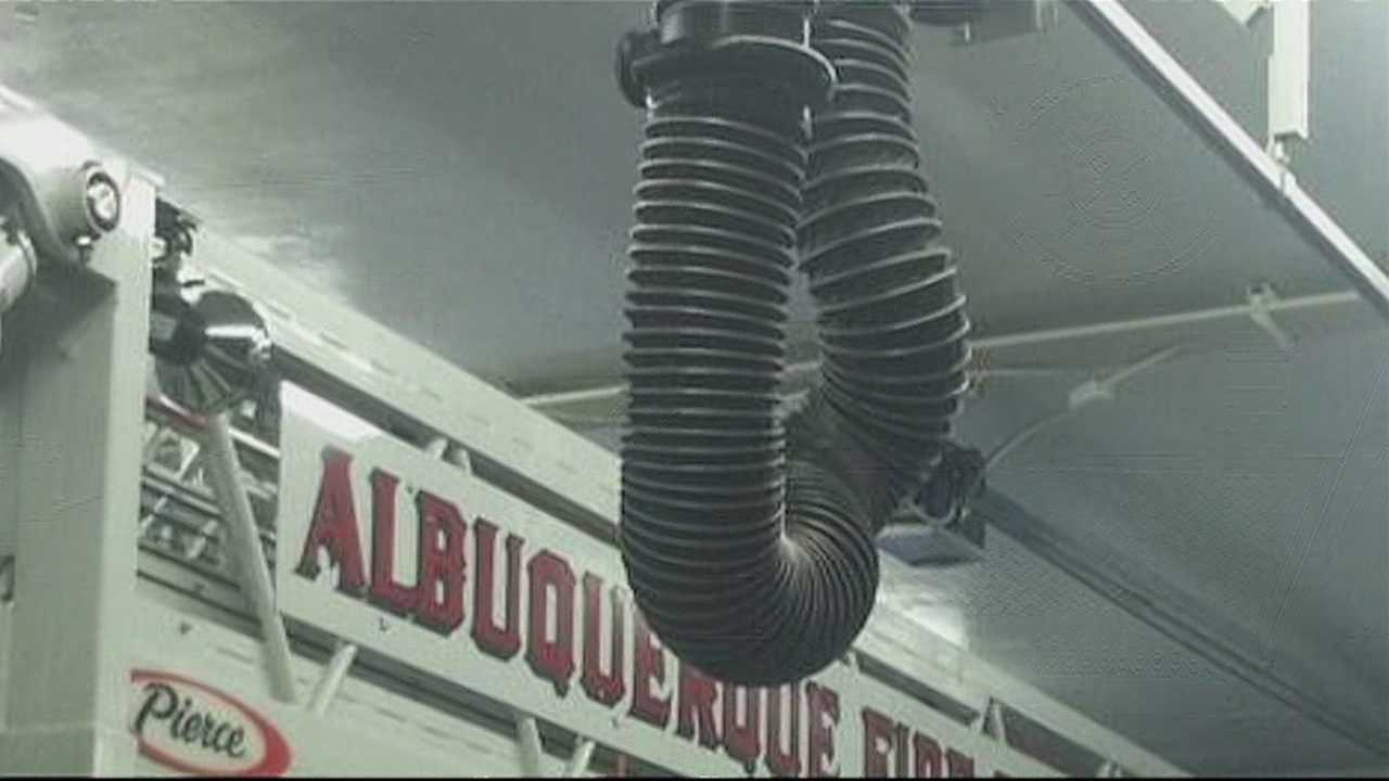 img-Albuquerque firefighters say stations are a toxic environment