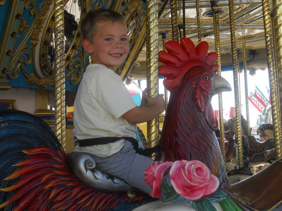 Sunday, September 22: 1:00 p.m.: Rooster Crowing Contest, Rabbit/Poultry Building