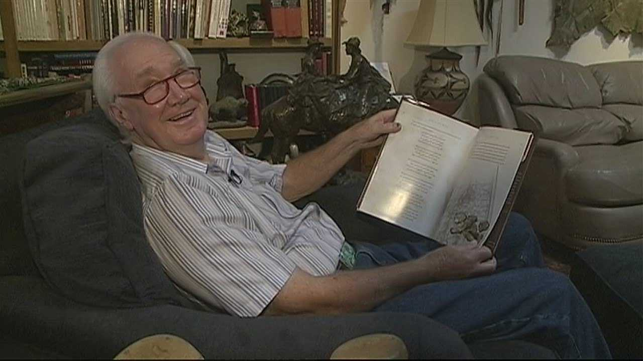 img-Santa Fe author who hid 2 million treasure pens new book