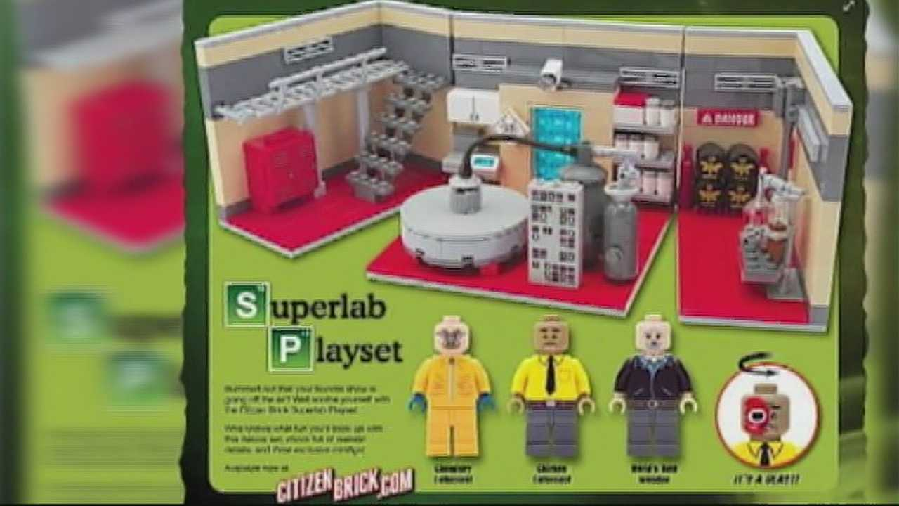 Toy inspired by 'Breaking Bad'