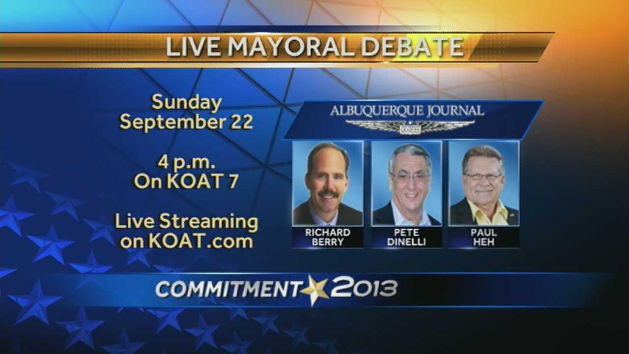 Mayoral Debate Teaser Image
