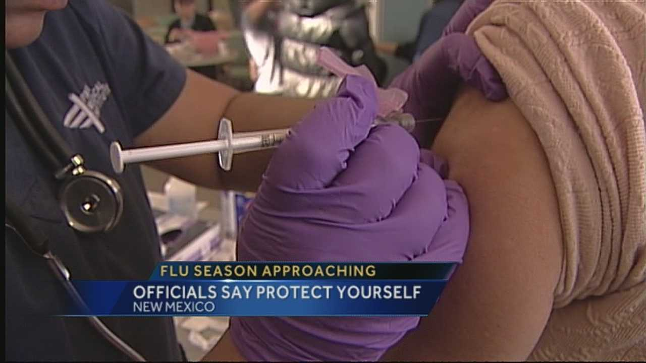 With one confirmed flu case already this season, officials want everyone to get vaccinated.