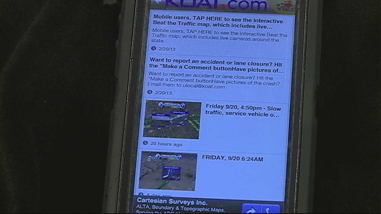 If you cant make the fiesta, KOAT has released a new app to let you track all the action from your smartphone.