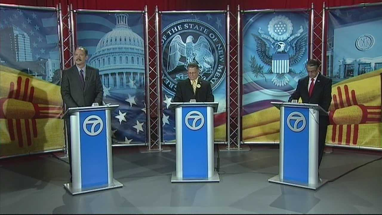 Action 7 News invited all three Albuquerque Mayoral Candidates to the studio to host a debate for the upcoming election,