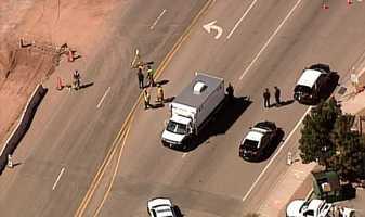 The following 5 photos are from a crash near Bernalillo.