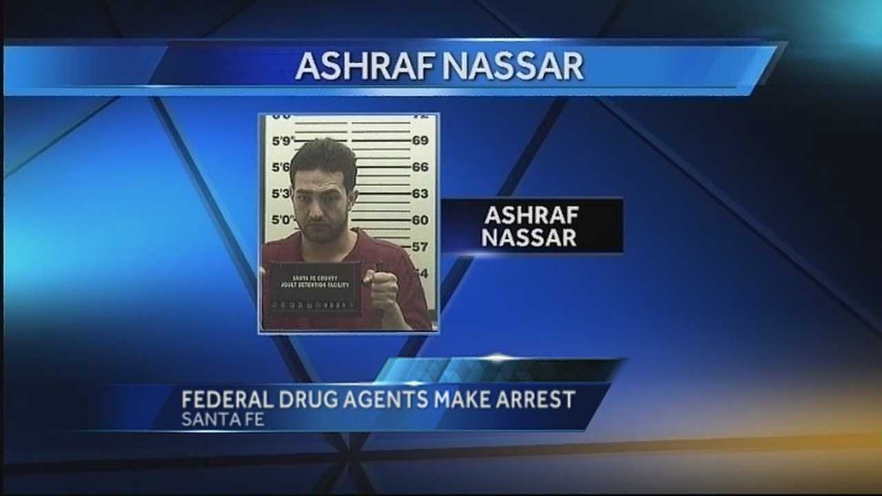 DEA Agents arrested Ashraf Nassar at his store in downtown Santa Fe.