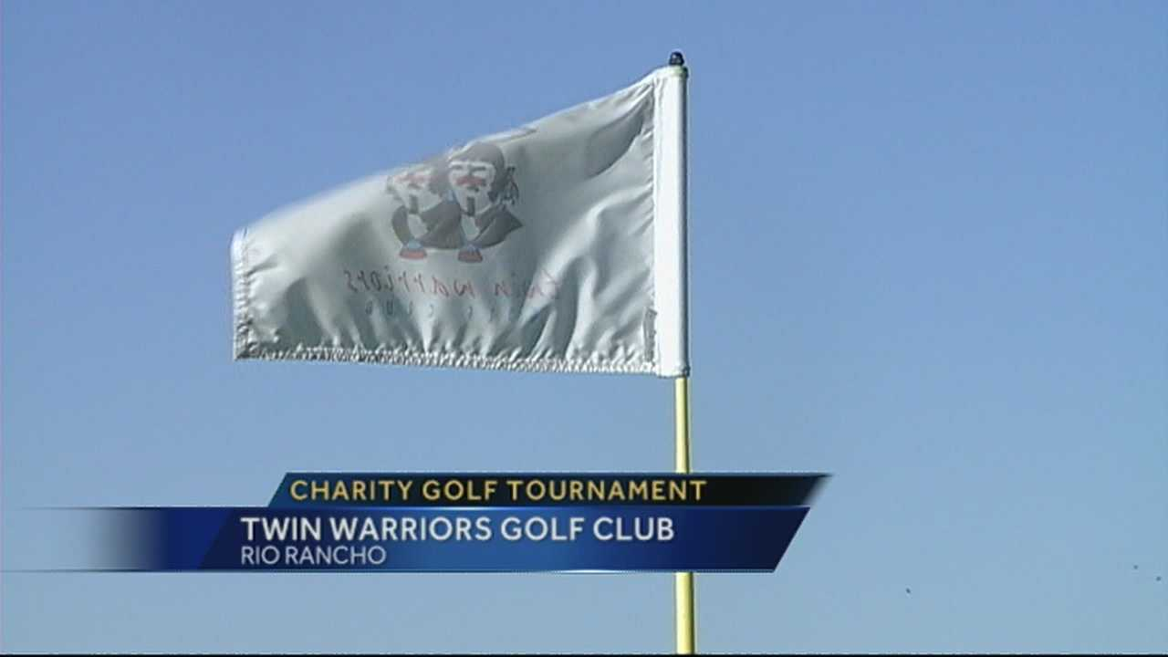 After a terrible car accident, the community of Rio Rancho is helping her and her family out through a charity golf tournament.