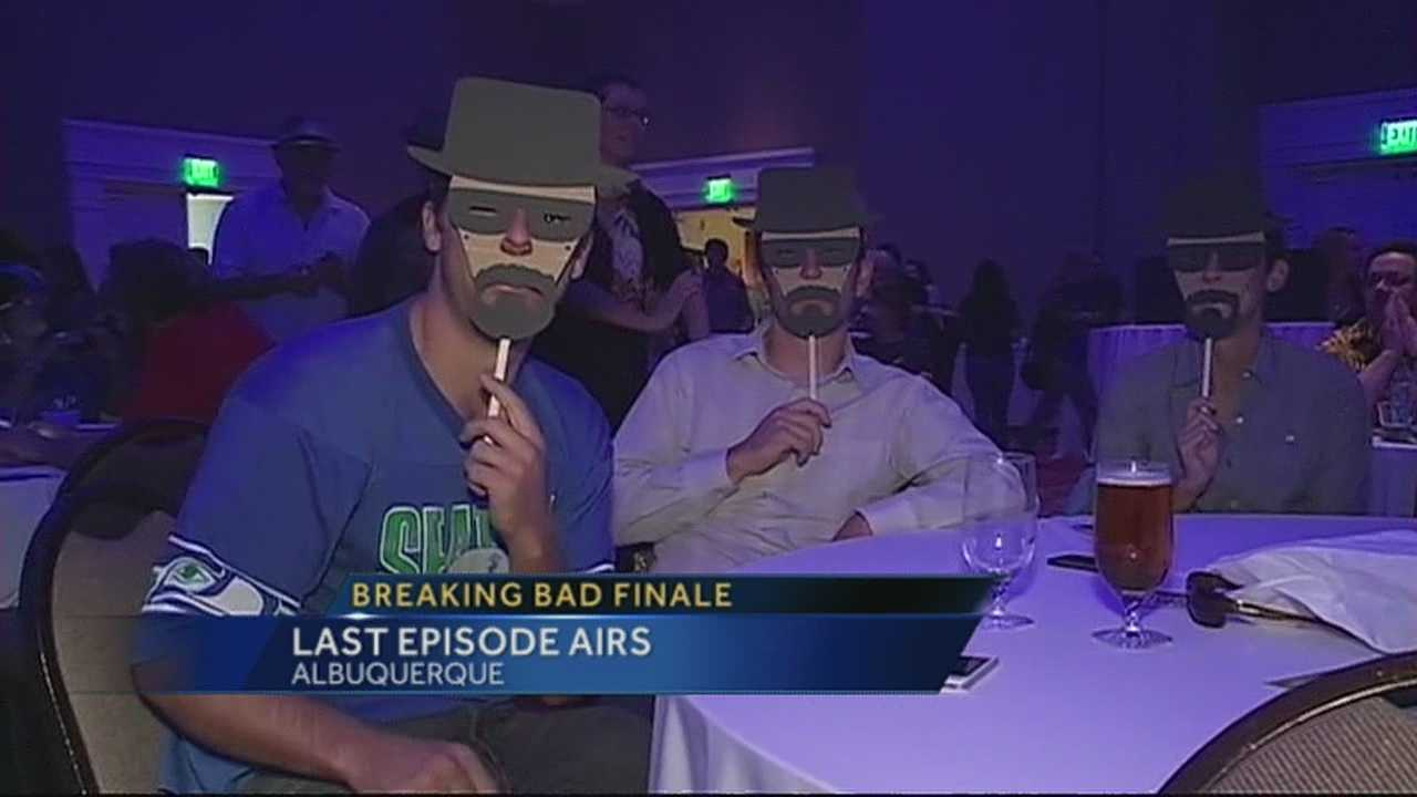 """The television smash hit """"Breaking Bad"""" aired its final episode Sunday night."""