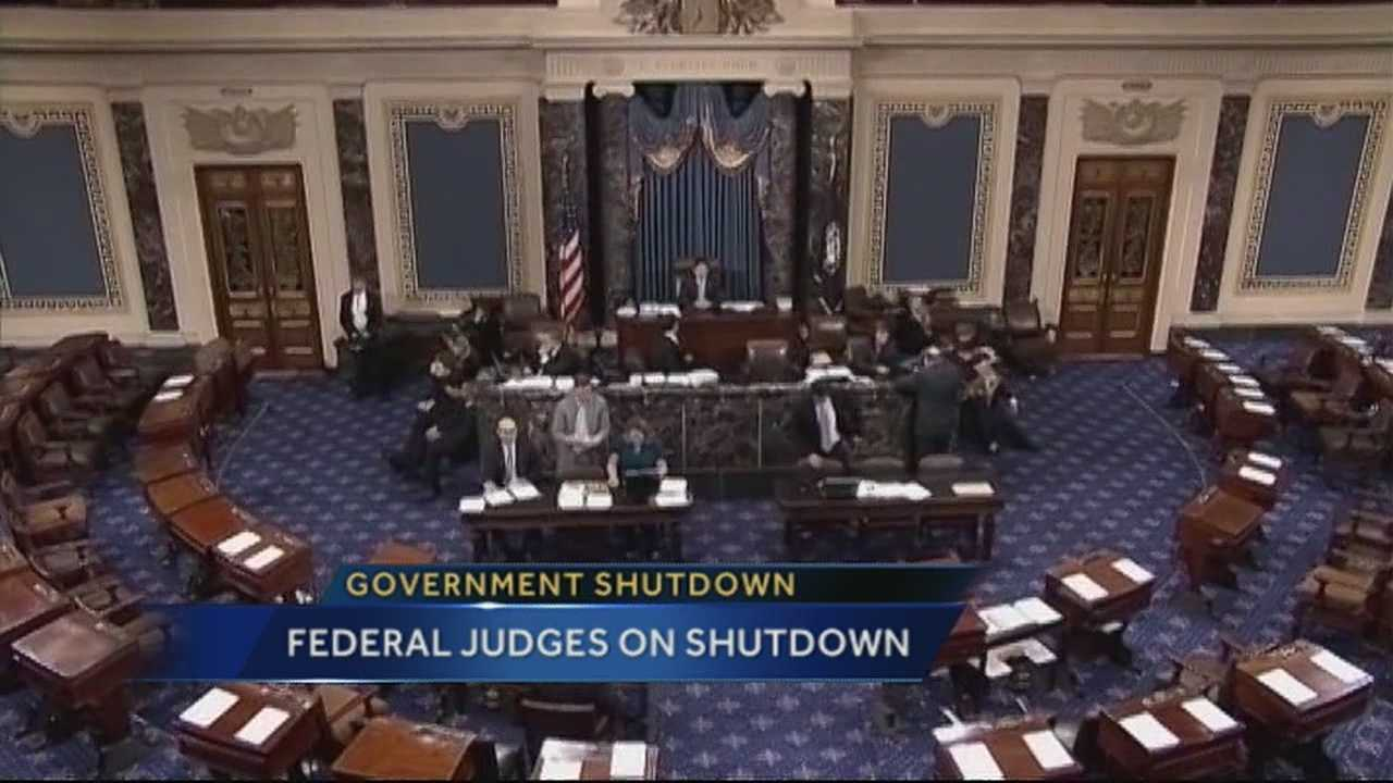 Federal social security judges spoke out against the federal government shutdown, claiming the shutdown will hurt the sick and disabled more than anyone else.