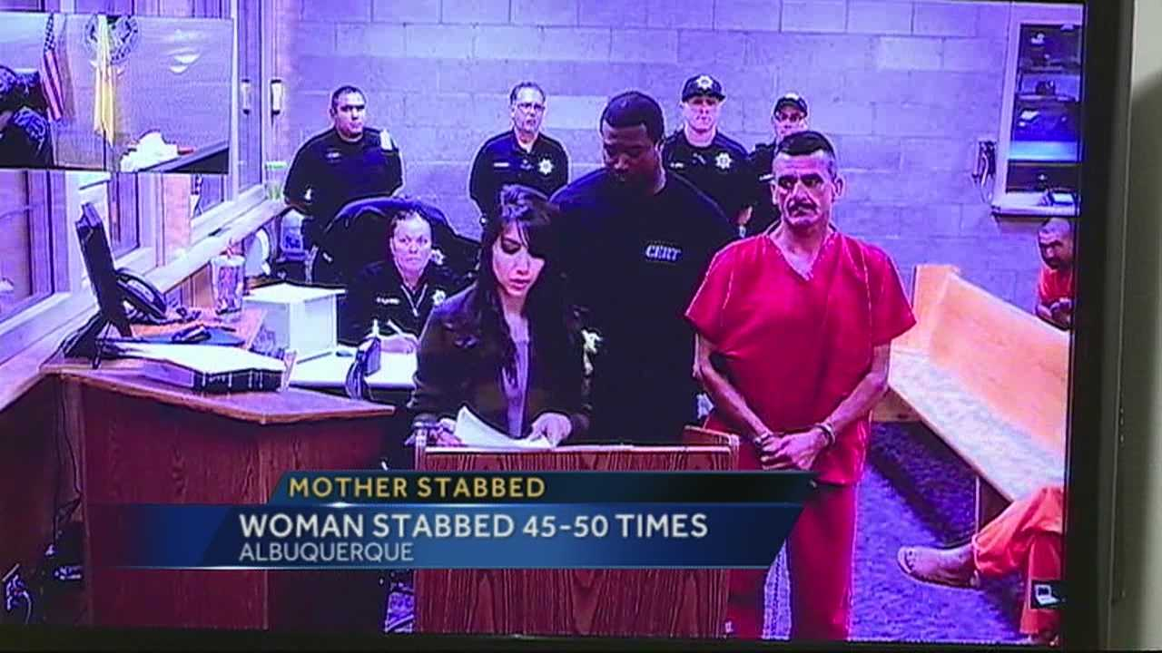 A man, who stabbed his soon to be ex-wife, is behind bars on a 1.5 million dollar bond.