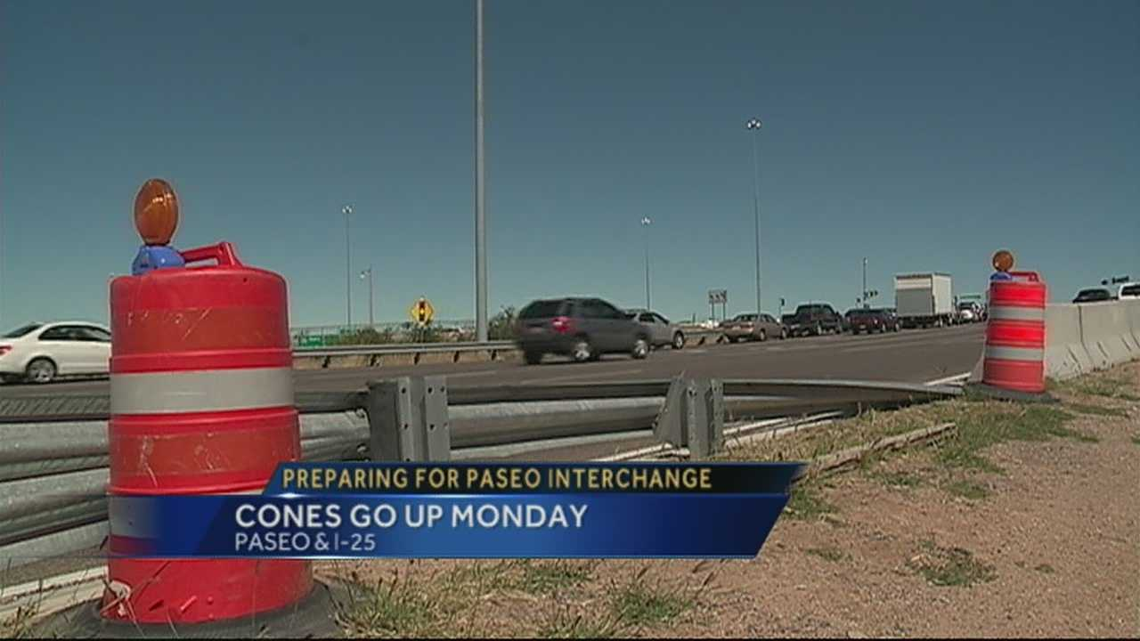 NMDOT aims for speedy Paseo interchange project