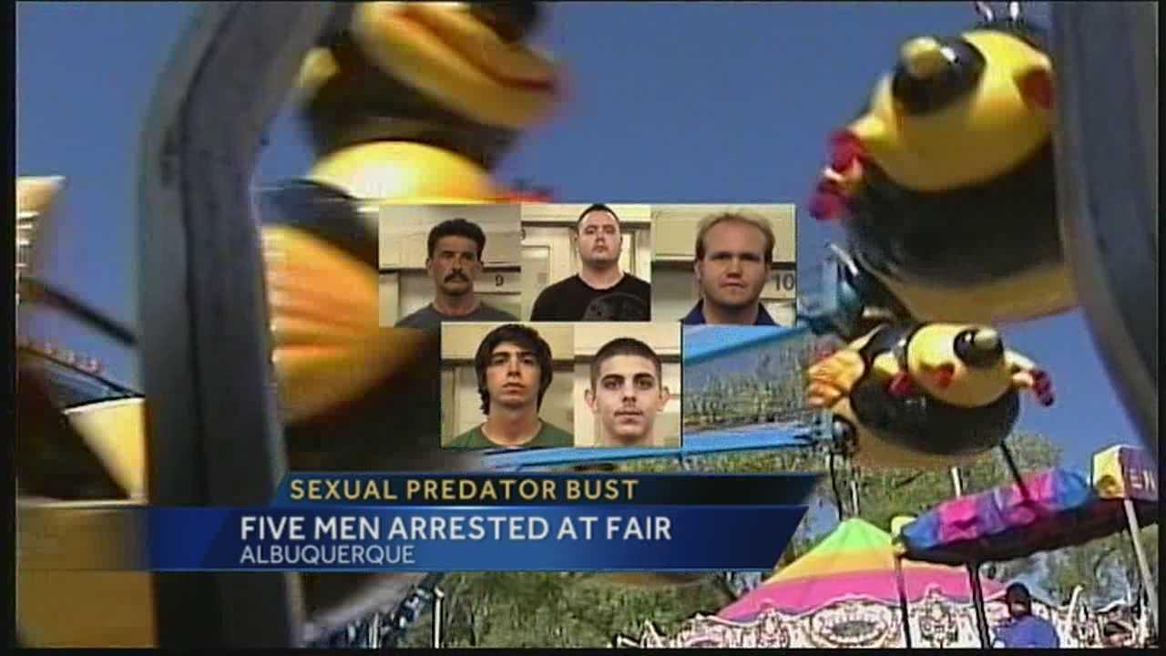 5 men face charges