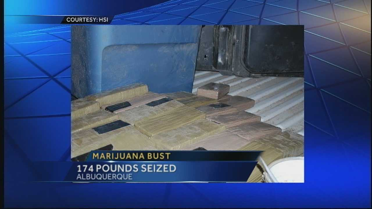 Police make big marijuana bust
