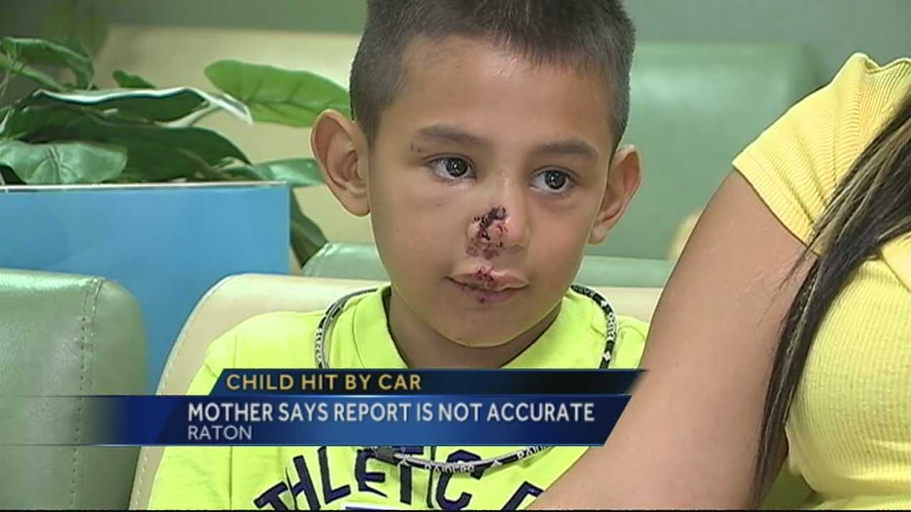 The Raton Police Department found the driver not negligent in a collision with 8-year-old Jacob Romero. Romero's mother disagreed with the report.
