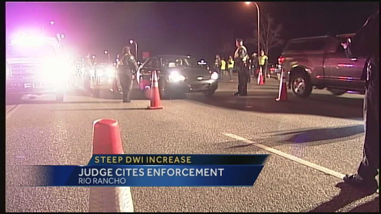 DWI arrests are spiking in Rio Rancho, up 56 percent from 2011.
