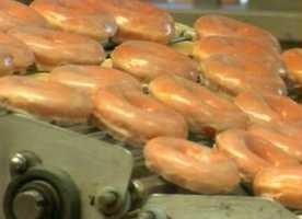 A traditional glazed Krispy Kreme doughnut has 10 grams of sugar.