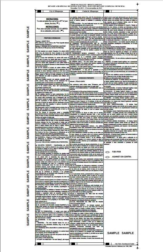 CLICK HERE to see a PDF of a sample ballot.