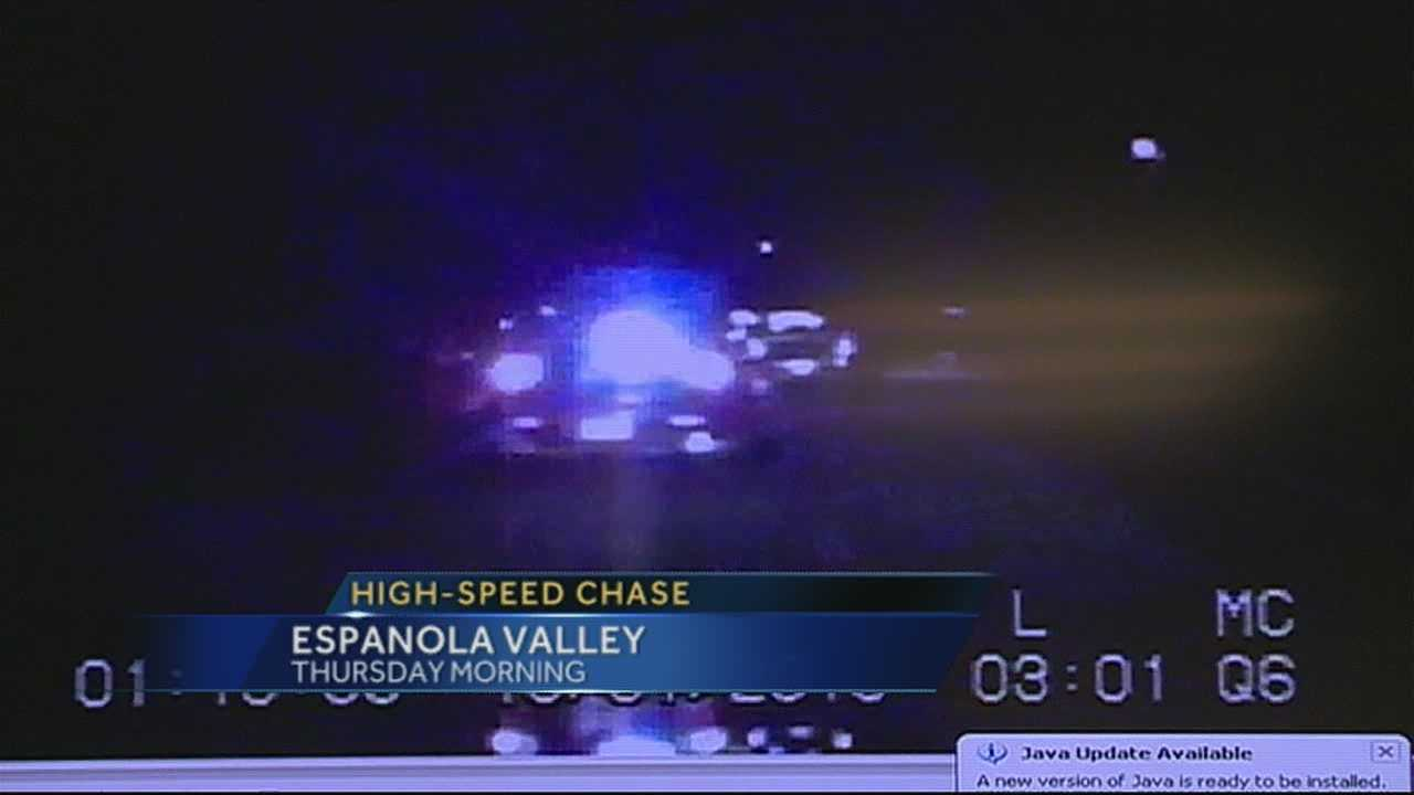 A high speed chase that gunfire can't stop.