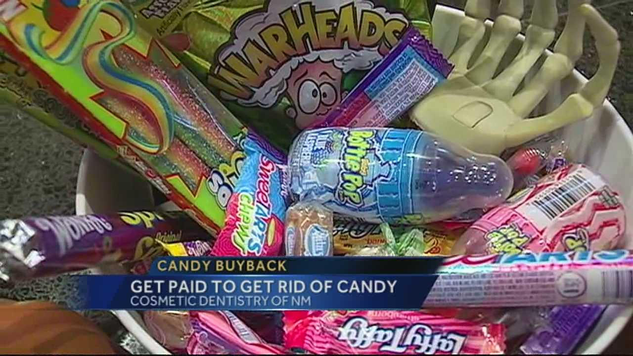 For the 7th year in a row, Albuquerque dentist Byron Wall will pay one dollar per pound of candy, which will go overseas to the troops.