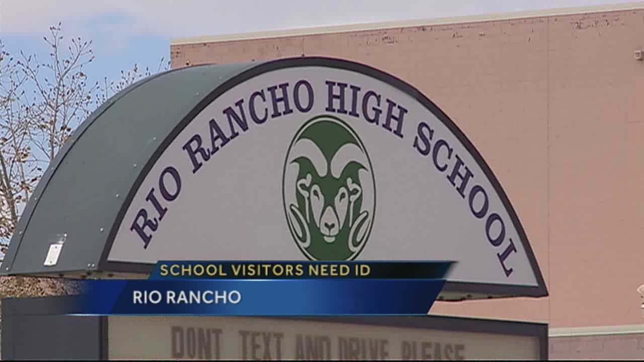 School officials in Rio Rancho are now requiring mini background checks to all visitors to the schools, in order to better protect children.