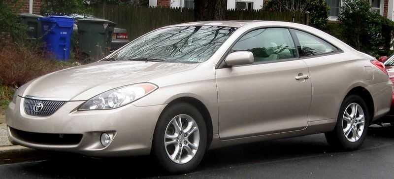2. Toyota Camry Solara