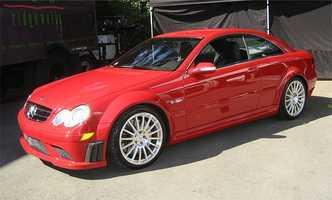 9. Mercedes Benz CLK