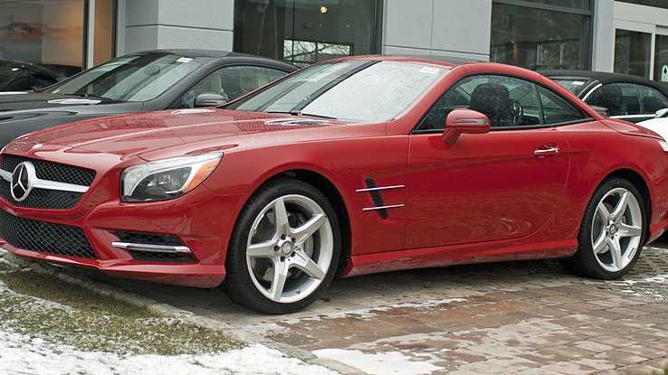 1. Mercedes SL Class