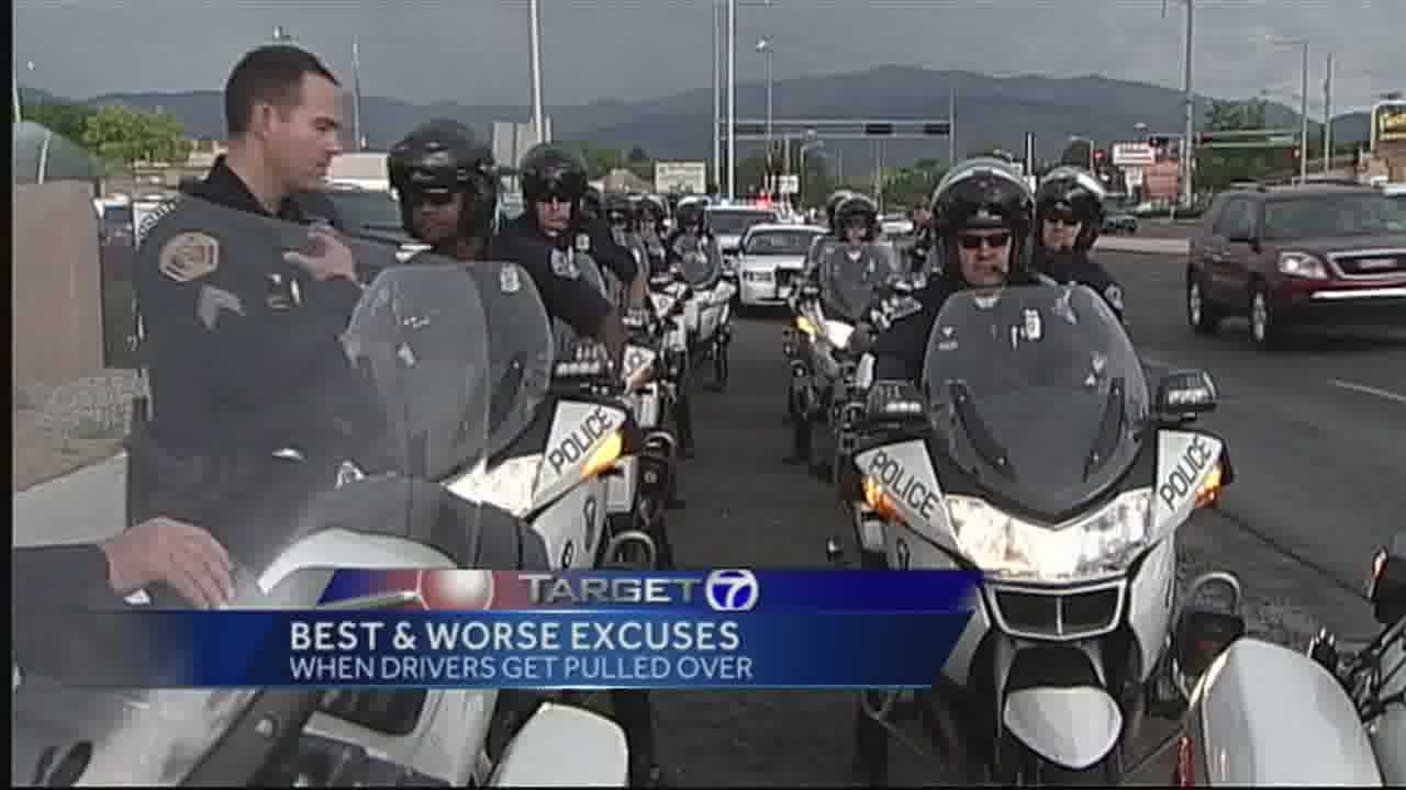 Police hear many excuses when drivers get pulled over.  Find out what your best plan should be when you get pulled over.