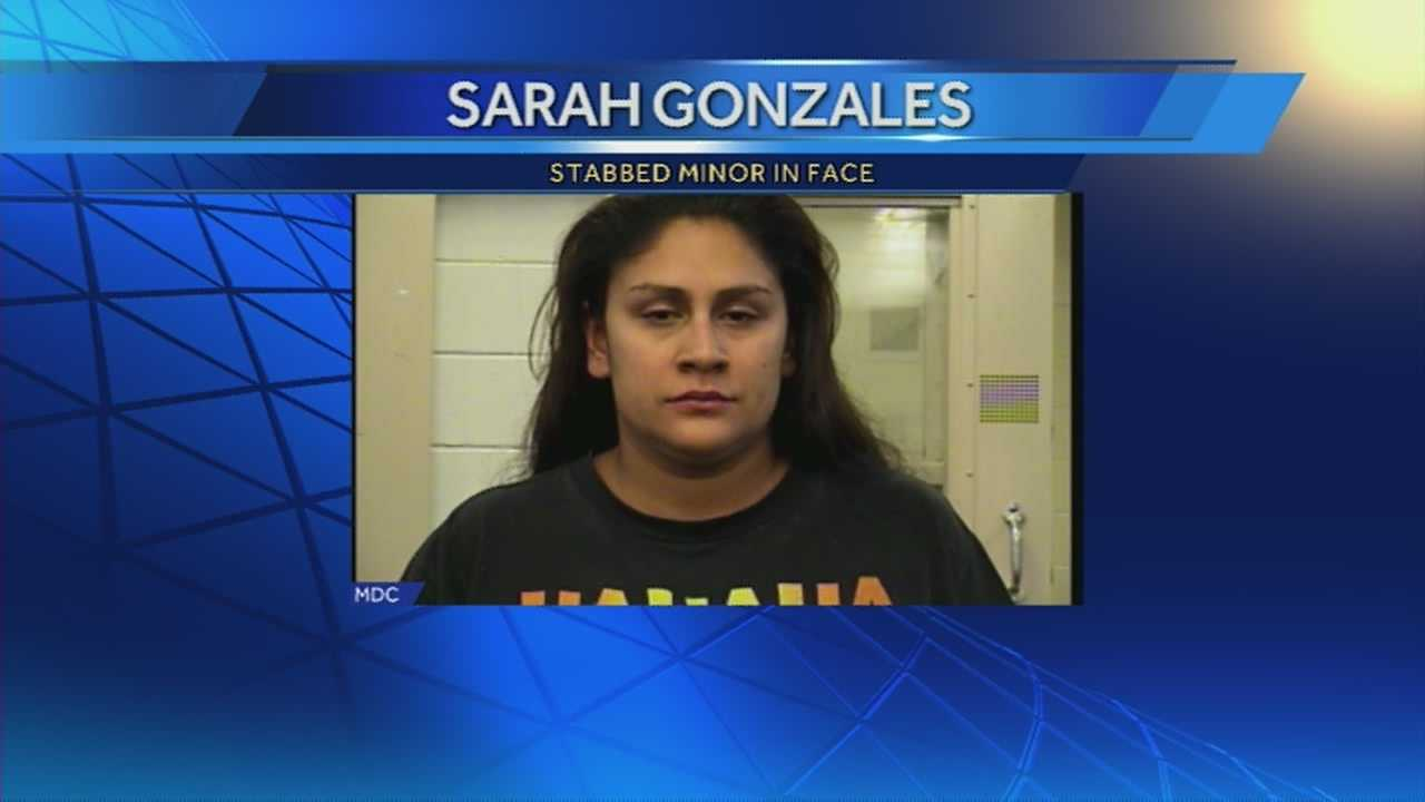 A woman stabbed a 16-year-old because she thought her boyfriend was cheating on her, according to the Albuquerque Journal.