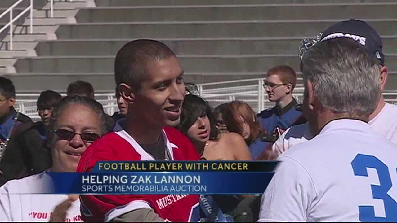 House of Football to help Zak Lannon fight cancer
