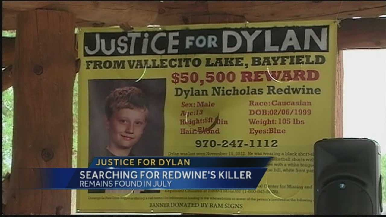 One year since Dylan Redwine went missing, his family is still looking for the person responsible.