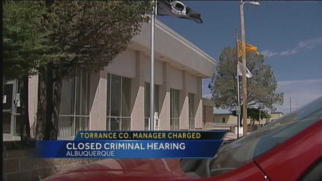 The hearings for Torrance County manager Joy Ansley are estimated to last through Wednesday.
