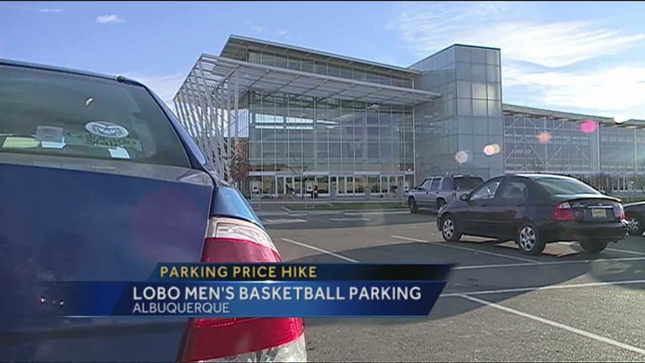 Lobo Parking Increase