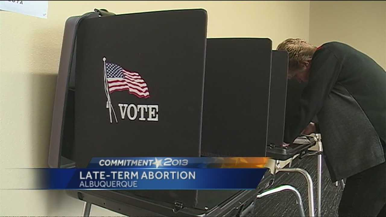 Tuesday, Albuquerque voters will head to the polls to decide whether or not to ban abortions after 20 weeks of pregnancy.