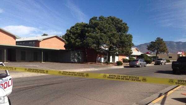 Albuquerque police respond to 911 call Nov. 19, 2013