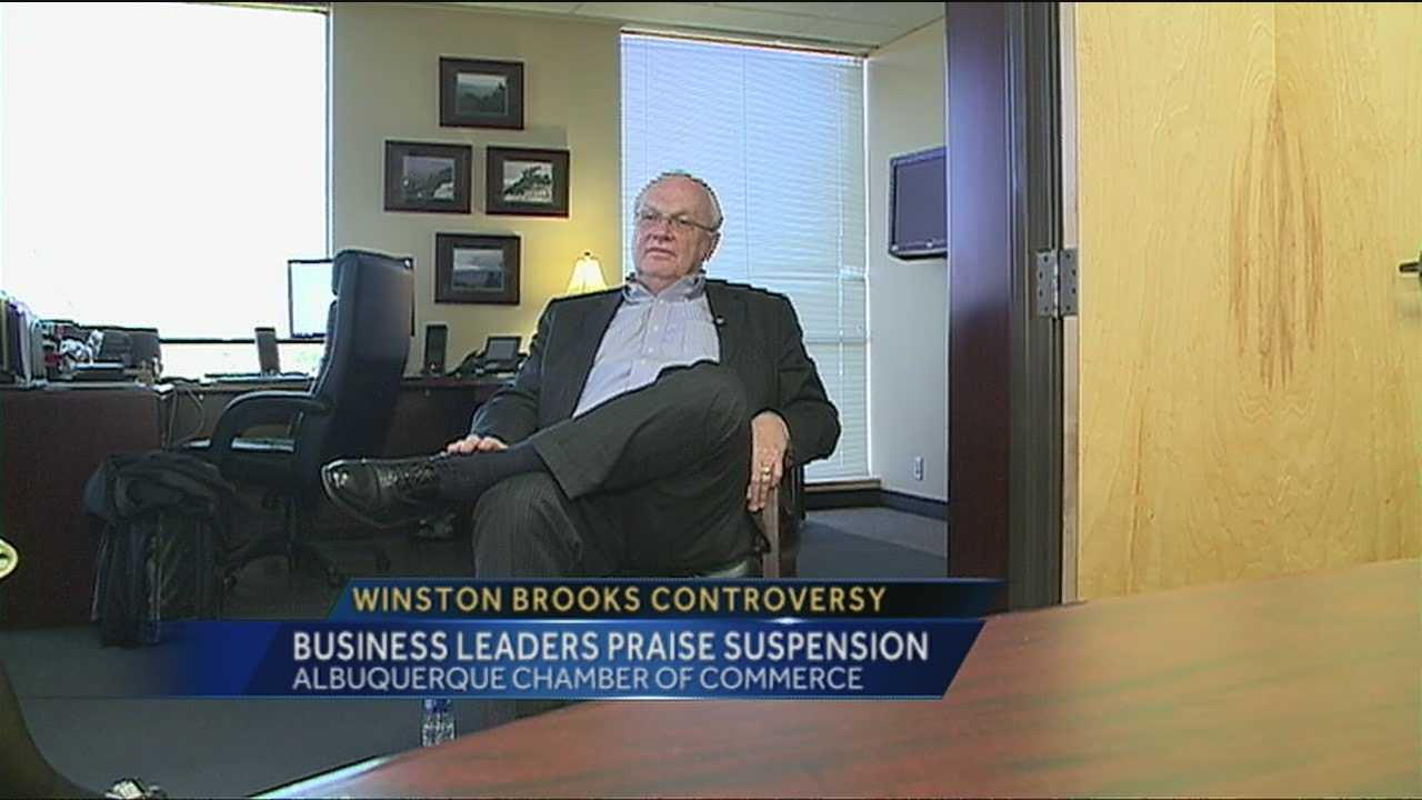 Albuquerque business leaders are talking about the Winston Brooks controversy.