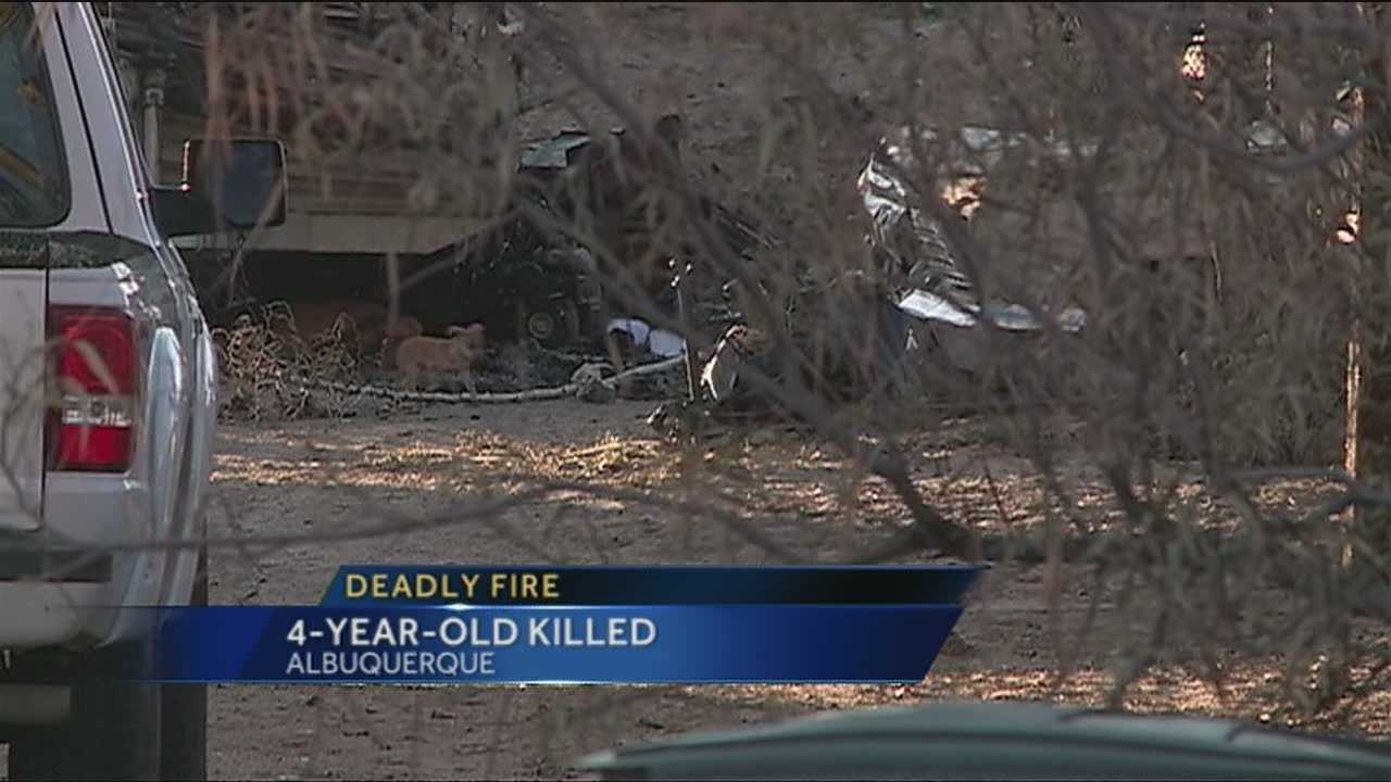 Fore the the first time we heard from the family of a four year old girl, killed in a fire in the South Valley.