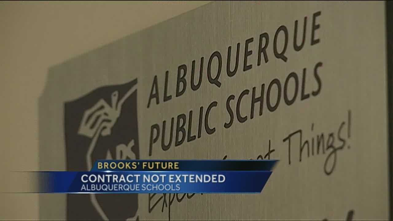 The school board decided not extend Albuquerque Public Schools Superintendent Winston Brooks' contract past 2016.