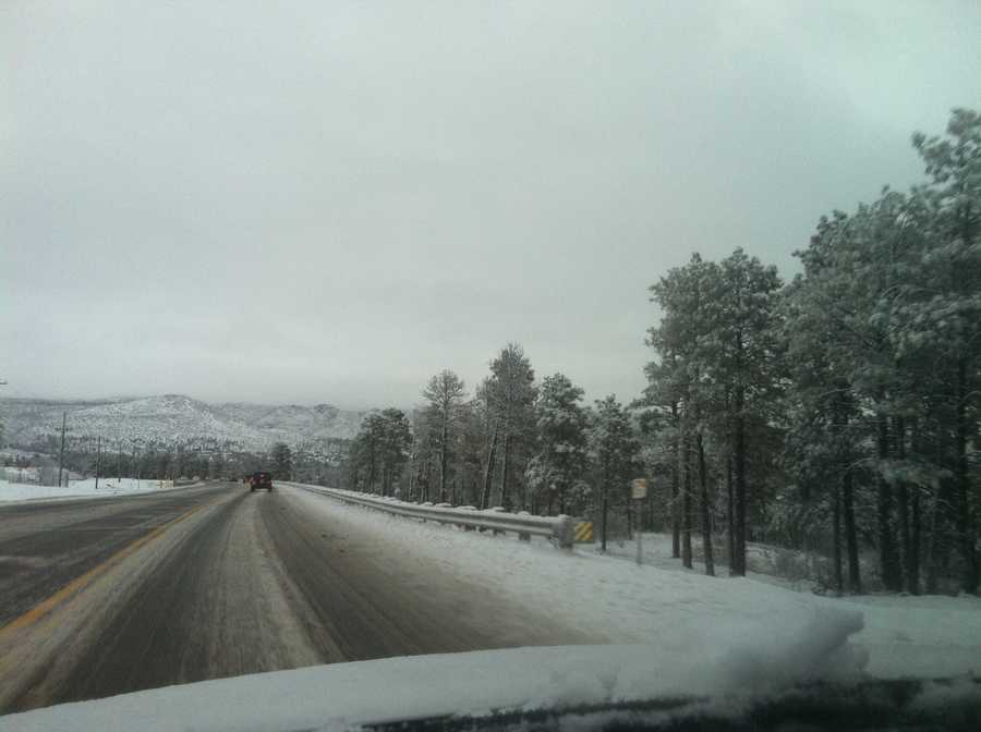 Winter Wonderland in Los Alamos, N.M.