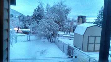Snow in Los Alamos