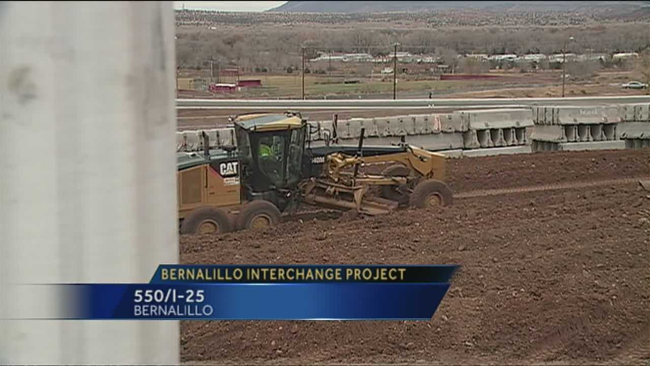 So much attention is being given to the Paseo Del Norte Interchange project that a huge project in Bernalillo has been somewhat overlooked.