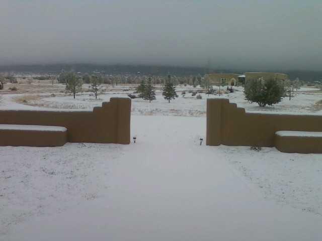 Edgewood snow
