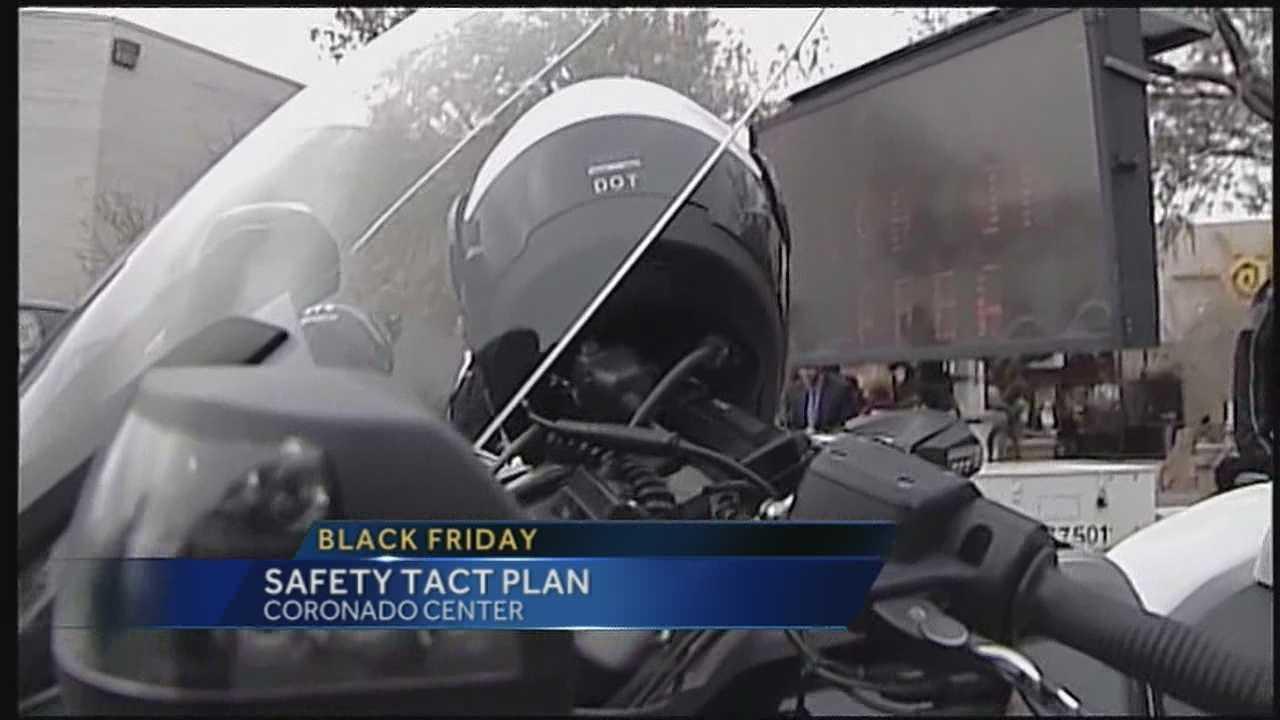 Albuquerque police tact plan
