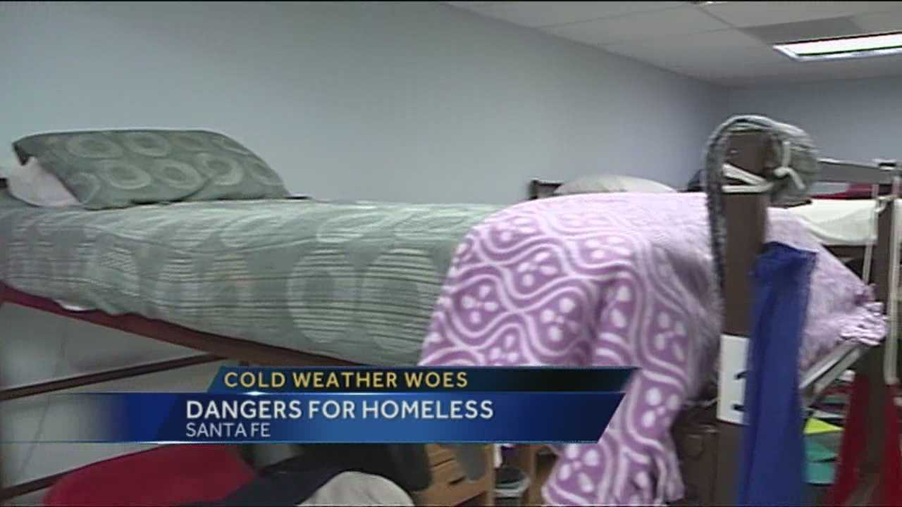 Homeless shelters say the wintry blasts are creating serious problems and they need help to keep people safe.