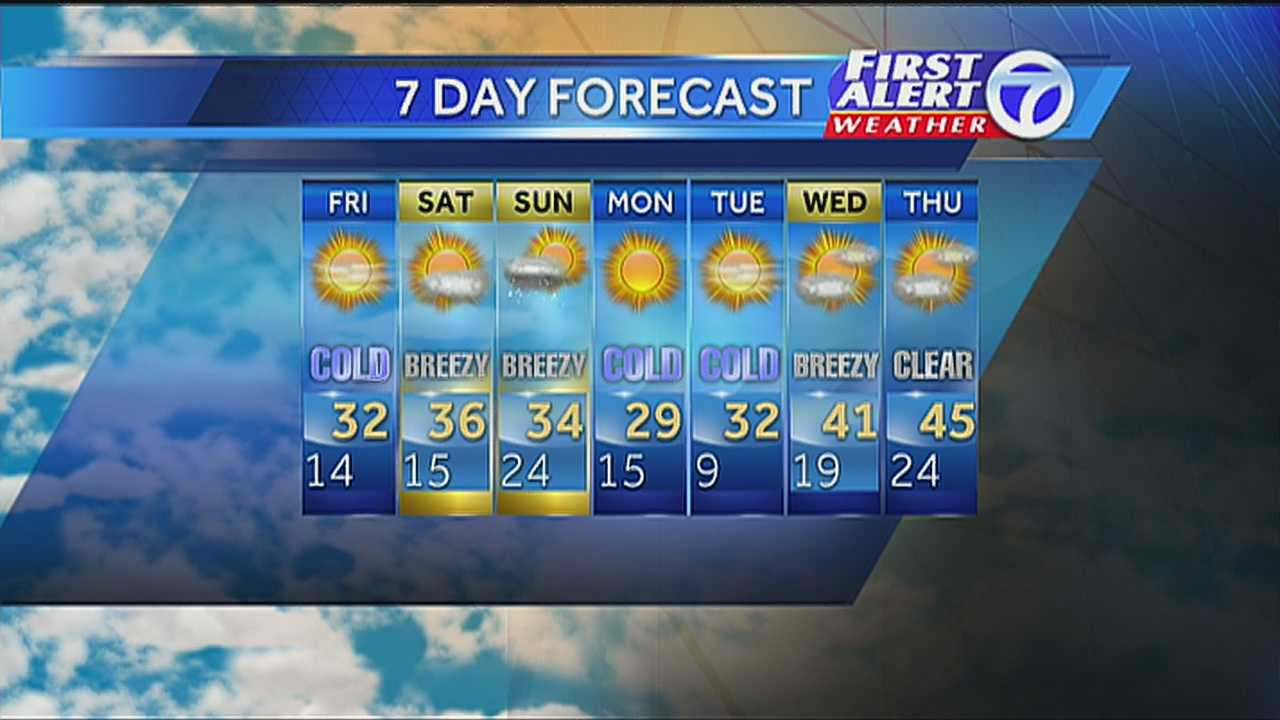 Angela's 7-day morning forecast for December 6th