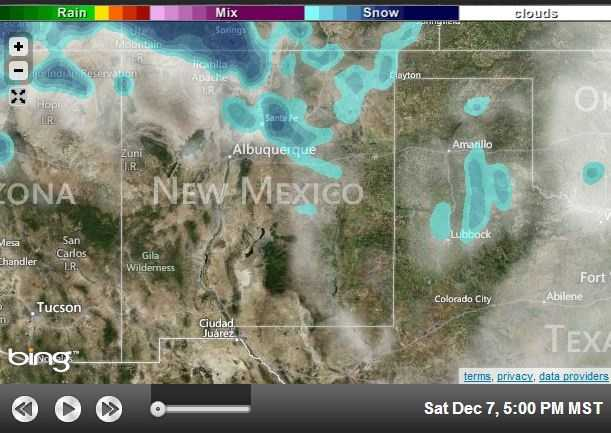 It was a wild week of weather in New Mexico, one that is expected to be capped off by a weekend of cold temperatures and snowfall.