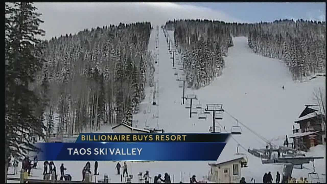 Today is an enormous day for one of the world's premiere ski resorts, located right here in New Mexico.