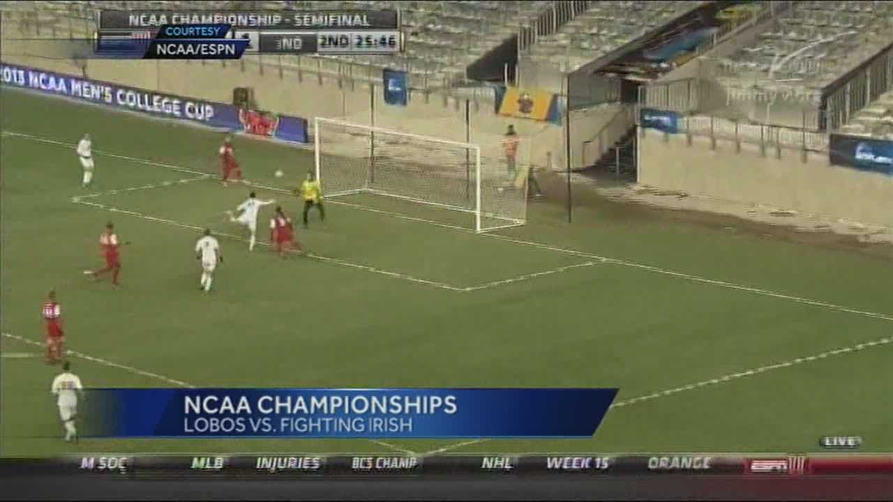 For the first time since 2005 and the second time in program history, the University of New Mexico men's soccer team had a chance to make it to the national championship game.