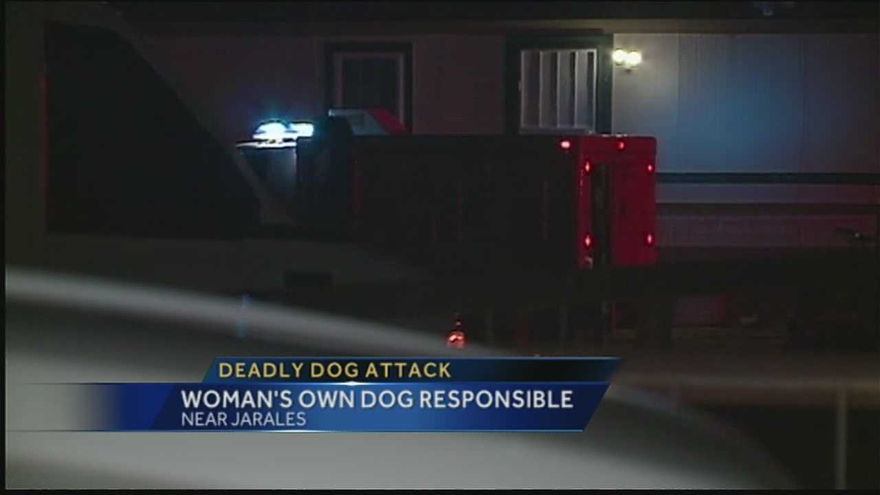 A Valencia county woman is dead after being attacked by her own dog.  Her son discovered the body later Friday Afternoon.