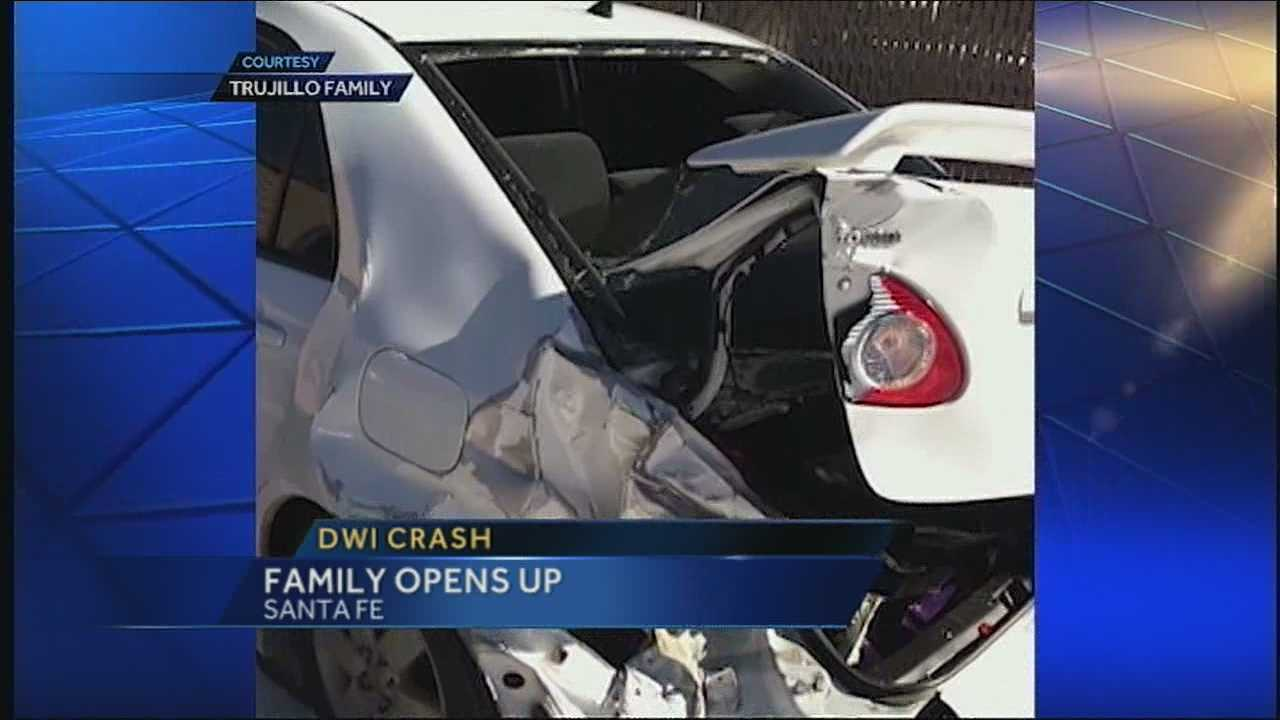 Family opens up about life after being in a DWI accident